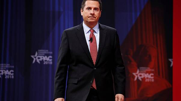 Image: House Intelligence Committee Chairman Devin Nunes arrives to speak a