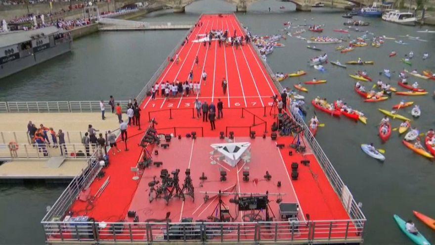 Olimpiai parkká változott Párizs