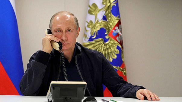 """""""Турецкий поток"""": Путин поздравил Эрдогана"""
