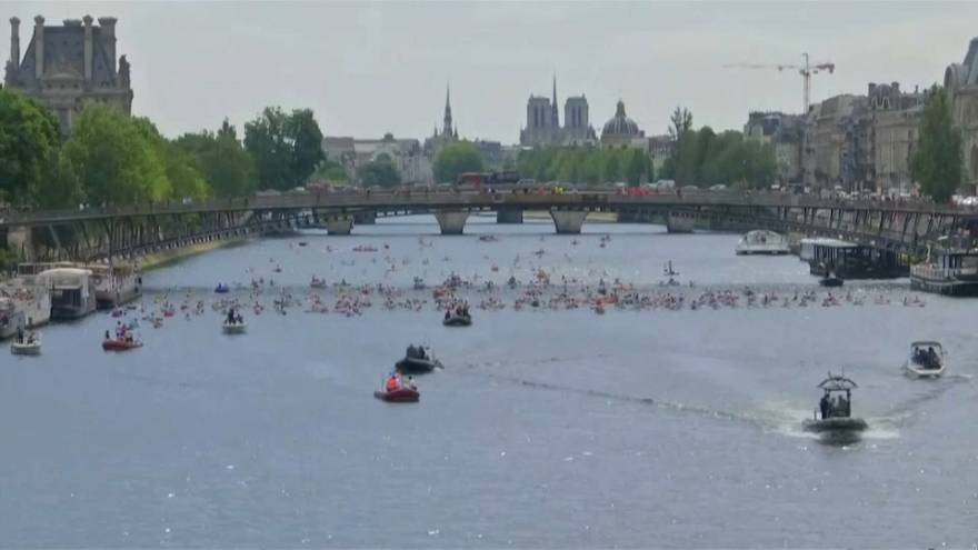 Paris turns into giant (and festive) Olympic park