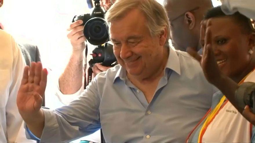 António Guterres alerta para tragédia no Sudão do Sul