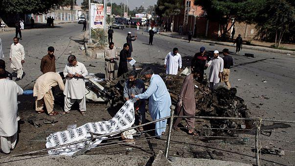 Blutiger Tag in Pakistan: Mehr als 40 Tote