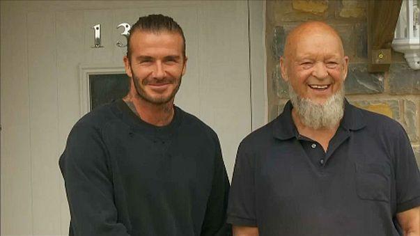 David Beckham Glastonburyben
