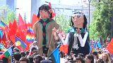 الرئيسة ميشال باشليت تعتذر رسميا من شعب المابوتشي