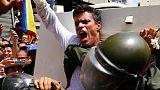 """López grita """"me están torturando"""" desde una cárcel venezolana"""