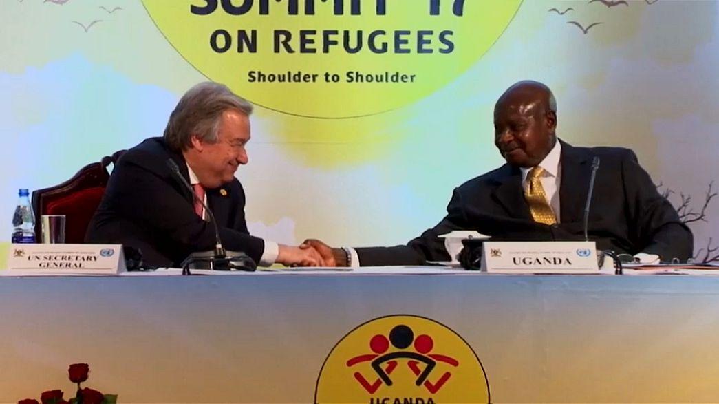 Uganda'da mülteciler için dayanışma zirvesi