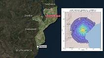 Mozambique hit by 5.8 magnitude earthquake
