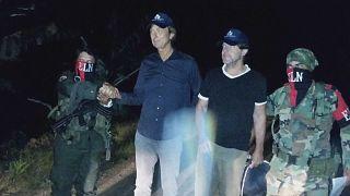Κολομβία: Ελεύθεροι οι Ολλανδοί δημοσιογράφοι