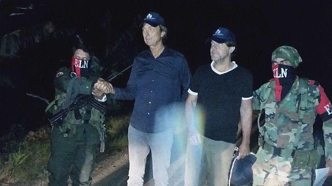Colombia: liberi i due giornalisti olandesi rapiti dall'ELN