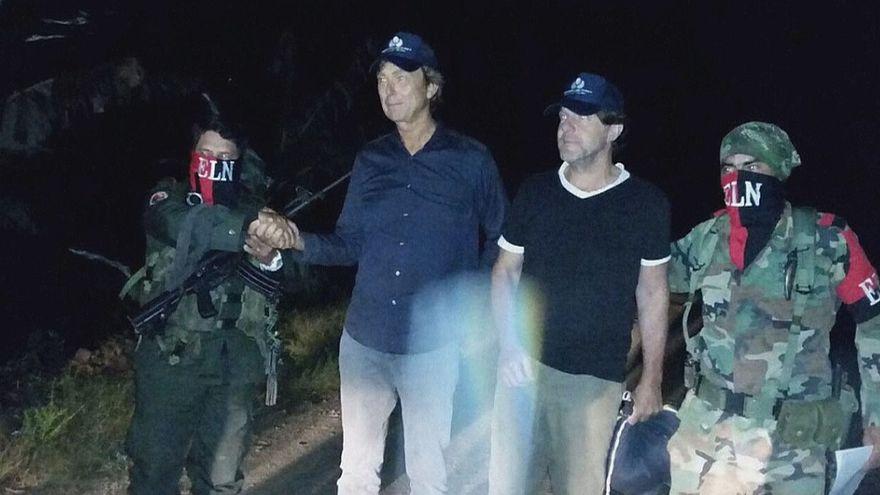 Deux journalistes néerlandais libérés en Colombie