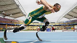 Pistorius' 400m world record set in 2011 smashed by American