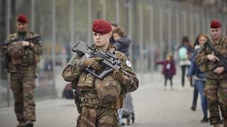 Image: Macron Puts The Army On Paris Streets To Combat 19th Act Of The Gile