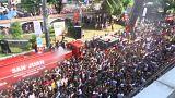 Aux Philippines, une fête bien arrosée