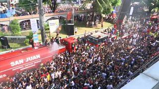 A víz ünnepe a Fülöp-szigeteken