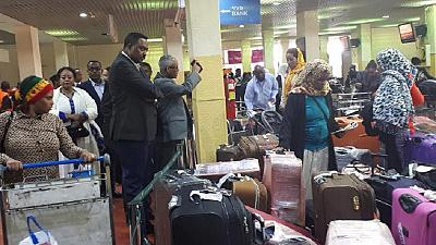 35,000 Ethiopians return from Saudi Arabia on special amnesty program