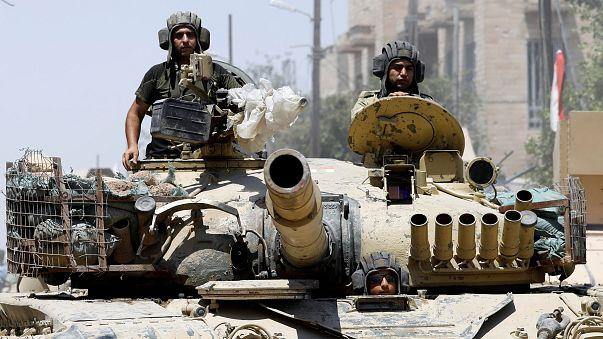 معارك ضارية بين القوات العراقية وعناصر تنظيم الدولة الإسلامية في لموصل القديمة