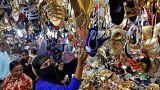 Muslime feiern Ende des Fastenmonats Ramadan