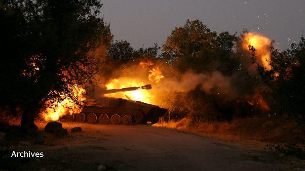 اسرائیل دو تانک سوریه را هدف گرفت