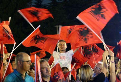 EU watches as Albania votes