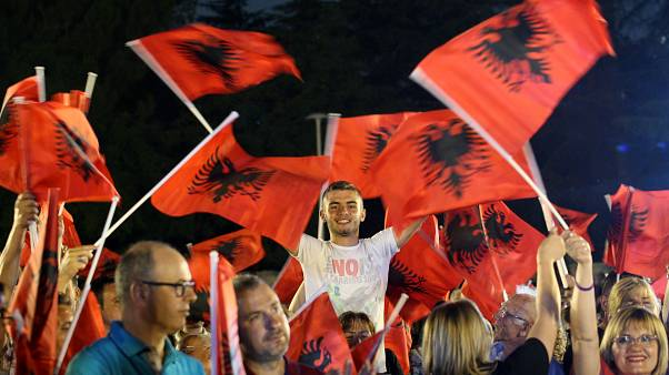 EU watches as Albania votes