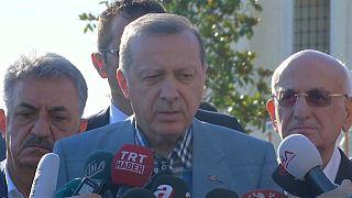 Erdogan: ellentétes a nemzetközi joggal a Katarnak szóló ultimátum