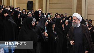 رئیس جمهور ایران بر حقوق شهروندی برابر زن و مرد تاکید کرد