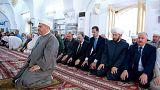 بشار اسد نماز عید فطر را در حما خواند