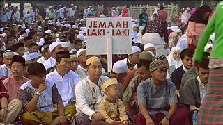 İslam dünyası Ramazan bayramını kutluyor