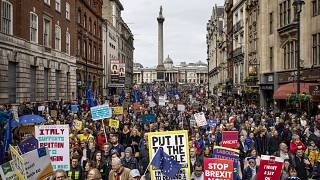 Image: *** BESTPIX *** Put It To The People March Takes Place In Central Lo