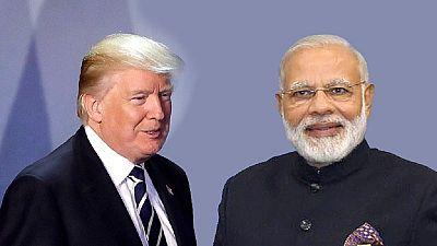 Inde : Modi à Washington pour une première rencontre avec Trump