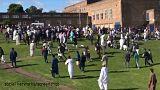تصادف خودور با نمازگزاران عید فطر در نیوکاسل ۶ زخمی برجای گذاشت