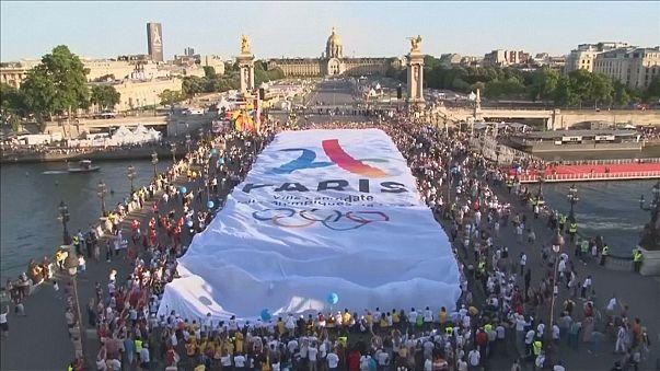 Paris em campanha para Jogos Olímpicos de 2024