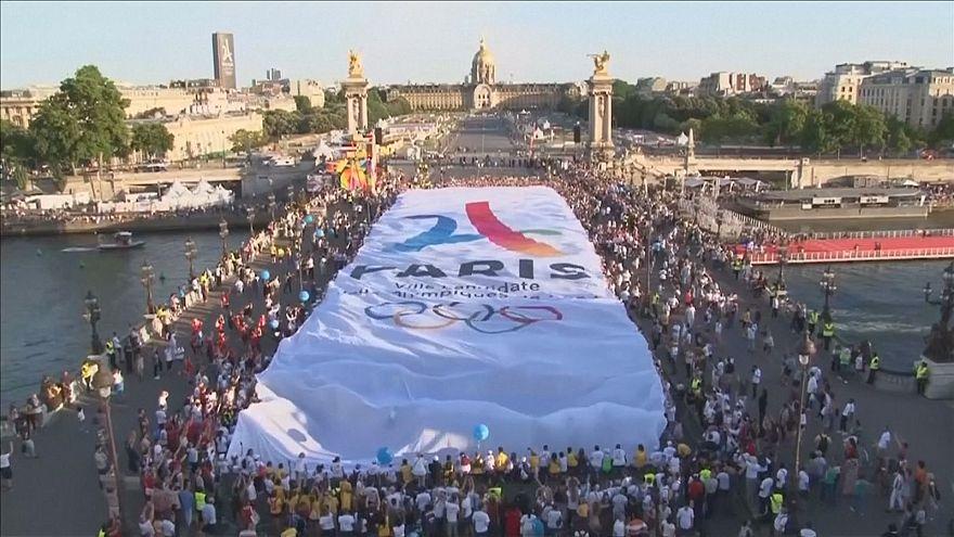 اختتام فعاليات اليوم الأولمبي في العاصمة الفرنسية باريس