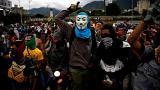 Clashes in Caracas as Venezuela opposition rally over activist's death