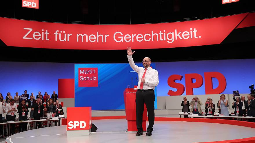 Schulz accuses Merkel of running scared over debate