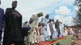 Az Eid-et ünneplik Nigériában