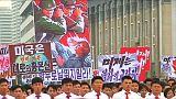 بيانغ يانغ تحتفل بذكرى انطلاق الحرب الكورية