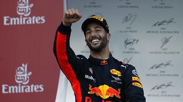 الأسترالي دانيال ريكياردو يفوز بجائزة أذربيجان الكبرى في الفورمولا واحد