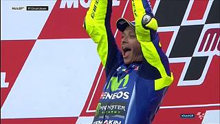 Rossi quebra jejum e conquista primeira vitória do ano em MotoGP