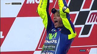 Hollanda'da Valentino Rossi zirvede
