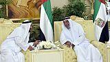 ظهور الشيخ خليفة بن زايد آل نهيان بعد غياب دام أكثر من ثلاث سنوات
