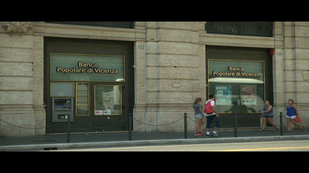 Italia, via a salvataggio di 2 banche venete
