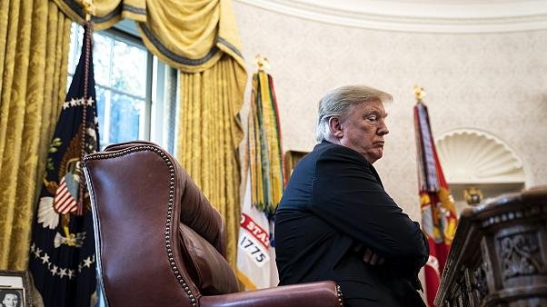 Image: President Donald Trump at the Oval Office in the White House on Nov.