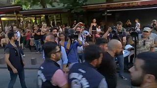 LGB Isztambul: felvonulás nem volt, fújolók igen