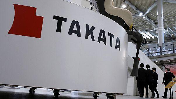 Le géant de l'airbag Takata dépose le bilan