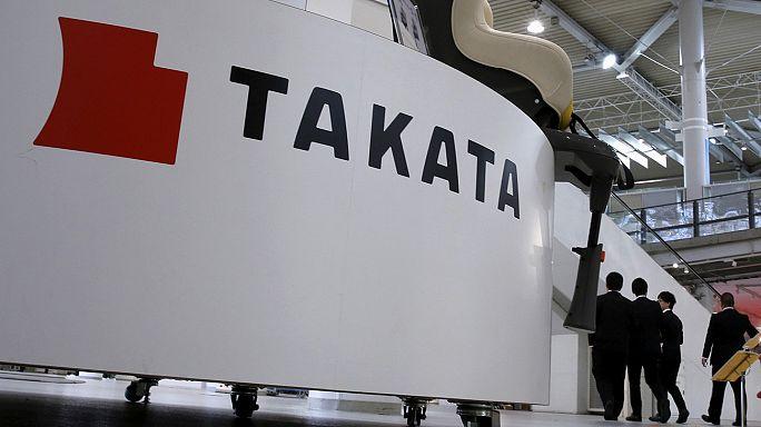 Takata declara falência