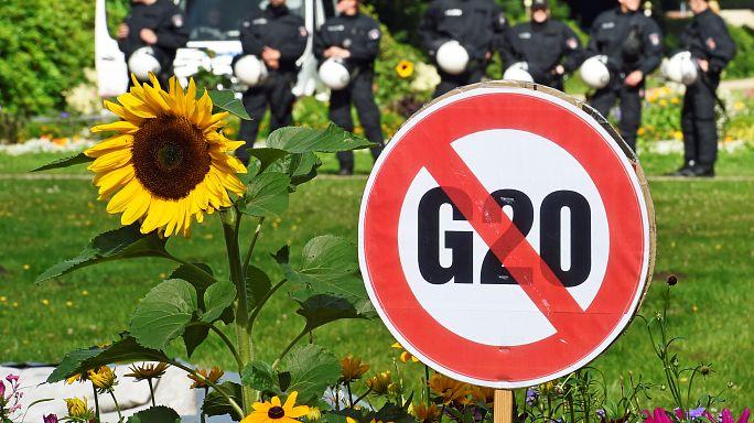 G20 ohne Prügel-Leibwächter
