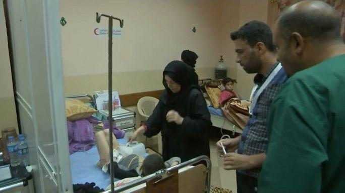 المأساة الإنسانية تلقي بحملها على الموصل