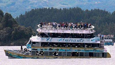 Naufrage d'un bateau en Colombie: au moins six morts