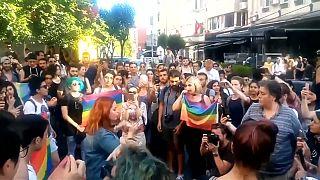 İstanbul'da Onur Yürüyüşü'ne sert müdahale